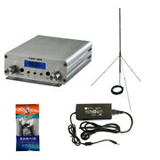 Fm Stereo Broadcast Transmitter 15w Pll Exciter 88-108mhz Czh-15a Cze-15a Fu-15a