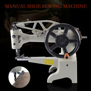 Manual Hand Patch Leather Cobbler Sewing Machine Repair Patcher Head 11.8'' Sale