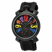 Gagandagrave Milano Carbon Menand039s Mechanical Watch 48mm Limited Edition