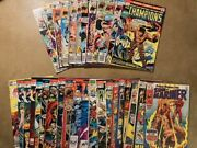 Lot Of 38 Marvel Bronze Age Comic Books Vintage Great Conditionno Duplicates
