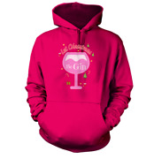Let Christmas Be Gin Hoodie Pick Colour And Size Gift Present Party Santa