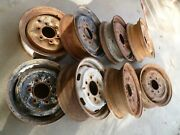 One Rim - Steel Wheel 14 6 And5 Lug For Datsun / Nissan Trucks And Cars