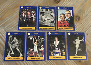 Lot Of 7 Signed Autographed 1991 Collegiate Collection Ucla Basketball Cards