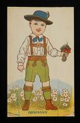 1920s Germany Cut-out Doll Fogelson's Better Bread Fogelson's Bakery Newton Nj
