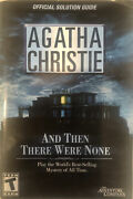Official Solution Guide For Agatha Christie's And Then There Were None Pc Game