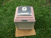 Wilbert Cameo Rose Triune Ashes Cremation Urn Vault New