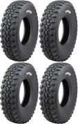 4 Tensor Ds32 Hard Atv Tires Set 2 Front 32x10-15 And 2 Rear 32x10-15