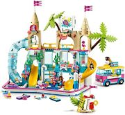 Lego Friends Summer Fun Water Swimming Pool Park Building Kit 1001 Pc Building