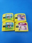 Vtech Leapfrog My First Leappad Lot Of 4 Game Cartridges