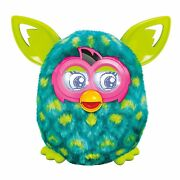 Brand New Furby Boom Blue And Green Peacock