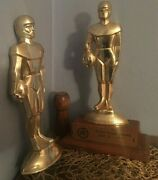 Lot Ford Ppandk Competition Trophy Punt Pass Kick 1971 3rd Place And 2nd Place Read