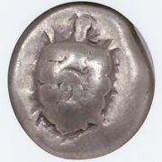 Greece Isl Of Aegina Silver Stater C.550-525 Bc Ngc F Strike 5/5 Surface 3/5