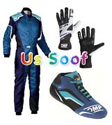 New Race Suite Cik/fia Level 2 Approved With Shoes Gloves And Gift