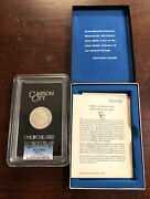 1880-cc 8/7 Low 7 1 Morgan Silver Dollar Gsa Hoard Pcgs Ms63 With Box And Coa
