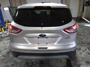 2013-2016 Ford Escape Lid Gate Decklid W/ Lid Lights And Window Silver Ux