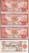 Tonga 2 Paanga P-26 1992 Solid Low 000002 Or 3 Or 4 Cloth Unc Money 1 Banknote