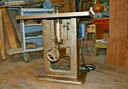 Working Vintage 50and039s 5hp 1 Spindle Wood Shaper