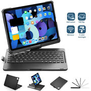 For Ipad Air 4 2020 Built-in Wireless Slim Keyboard Cover Case Magnetic Pc Shell
