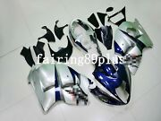Blue Silver Abs Injection Fairing Kit Fit For 1997-2007 Gsxr1300 Hayabusa Gen 1