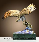 Home Decoration Copper Hand-painted Falco Rusticolus Wings Bird Fly Hawk Eagle