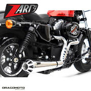 Harley Davidson Sportster 2014 2015 Full Exhaust Zard Conical Polished Rc