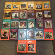 Massive Lot Of 26 Scribners Illustrated Vintage Classics. Varying Dates And Eds
