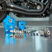 Sands Chain Drive 550c Cam Chest Kit Chrome Tubes Harley M8 Oil Cooled 17-up