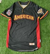 """Ivan """"pudge"""" Rodriguez Game Used Jersey """"2006 All Star Game"""" Mlb Authenticated"""