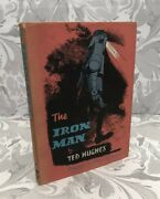 The Iron Man By Ted Hughes First Edition 1968. Illustrated George Adamson.rare