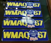 4 Vintage 1980and039s Chicago White Sox Wmaq 67 Radio Station Bumper Stickers