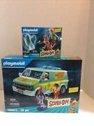 Playmobil Scooby-doo Mystery Machine Set 70286 And 70287 Bundle Present Gift Lot