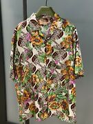 Silk Rose Shirt White New In Box Limited Edition Never Worn
