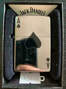 Zippo Basic Simple Spade Design Collectibles Us Made Steel Lighters