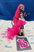 ❤️monster High Catty Noir Doll Singing And Microphone-13 Wishes.2013 Mattel, Guc❤️