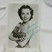 Bess Myerson Miss America 1945 Hand Signed Photo Autographed Actress Politician