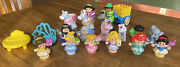 20 Pc. Fisher Price Little People Princess Lot