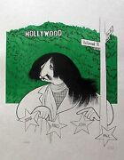 Al Hirschfeld Ringo Star Hand Signed Limited Edition Lithograph The Beatles Art