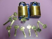 2 New Abus Ic Best Cyl. With H Core And 1 Core And 10 Keys Padlock  Locksmith