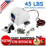 45 Lbs Saltwater Boat Marine Electric Windlass Anchor Winch With Wireless Remote
