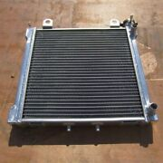 2row Motorcycle Aluminum Radiator For Bombardier Ds650 00-06 34mm
