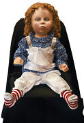 Halloween Animated Creepy Deadly Doll Frightronics Prop Haunted House  Du2632