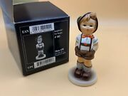 Hummel Figurine 630 Young Farm Baby Shoes 3 11/16in 1 Choice - Incl. Boxed - Top