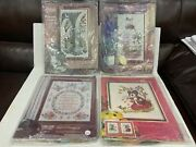 4 New Paragon Vintage Needlepoint Long Life Greenery Mr Mouse Mission Gardens