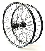 Stanand039s Rapid 26andrdquo Wheelset Speed Tuned 6-bolt Disc Qr Hubs Spokes 891011 Spd