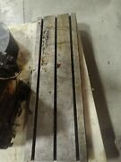 44.5 X 14 X 2 Steel Weld T-slotted Table Cast Iron Layout Plate Weld 3 Slot