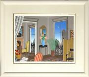 Thomas Mcknight European View Screenprint Signed And Numbered In Pencil
