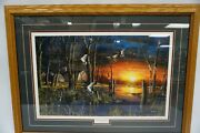 Autumn Visitors By Jim Hansel 4674/4980 Framed 31x 23 1/4 Artwork Collectible
