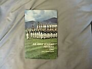 1961 Air Force Football Media Guide Yearbook Cross Country Program Soccer Ad