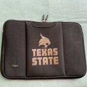 Tribeca Breathe Sleeve Texas State Laptop Padded Bag Carrying Case San Marcos Tx