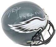 Mike Trout Fly Eagles Fly Signed Eagles Full Size Rep Helmet Mlb Jc126390